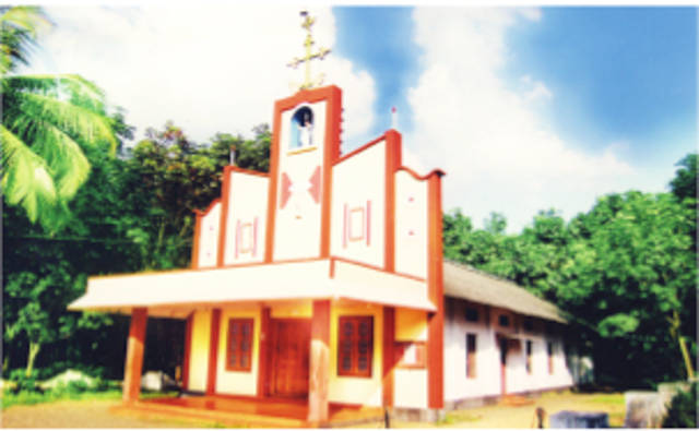 Sacred Heart Forane Church Church, Changaleri, Palakkad
