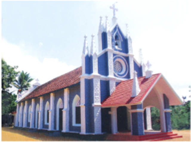 St. Theresa's Knanaya Catholic Church, Ranni, Pathanamthitta