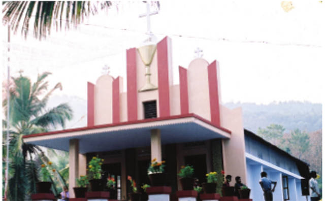 Infant Jesus Knanaya Catholic Church, Airode,  Kasargod