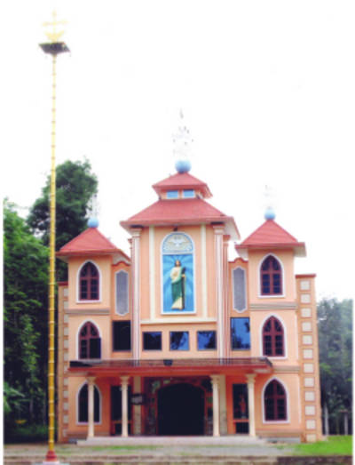 St. Jude's Knanaya Catholic Church, Christ Nagar, Wayanad