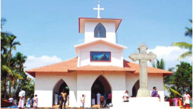 Christ the King Knanaya Catholic Church, Eachome, Wayanad