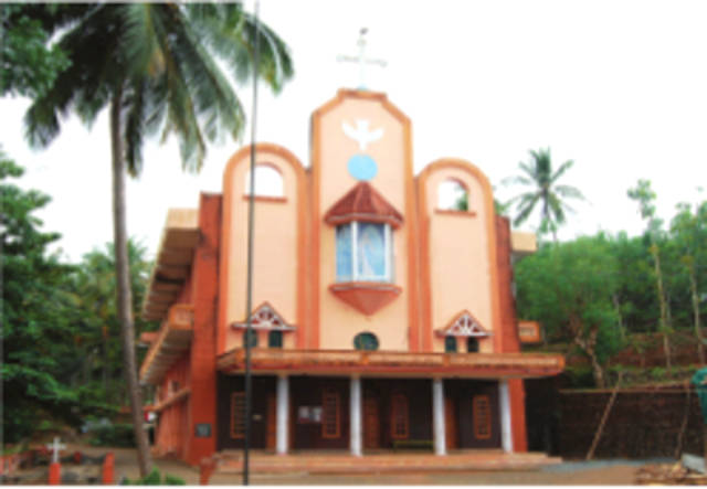 St. Mary's Knanaya Catholic Church, Chullikkara,  Kasargod