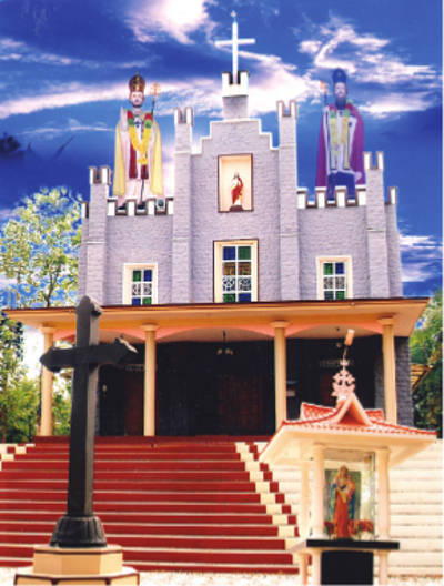 SS. Peter & Paul Knanaya Catholic Church Mrala