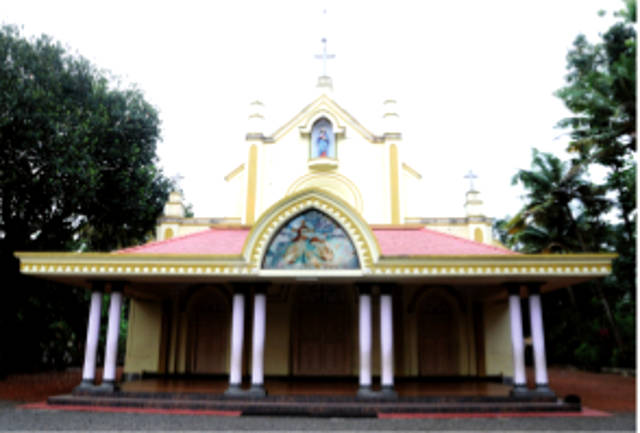 St. John's Knanaya Catholic Church, Chingavanam, Kottayam