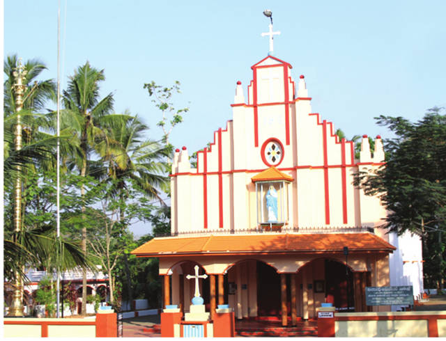 St. Mary's Knanaya Catholic Church Eravimangalam