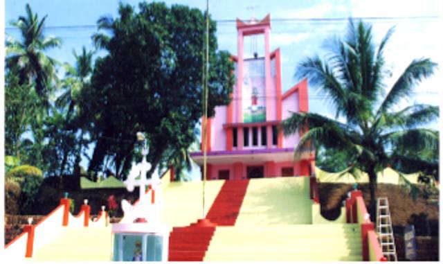 St. Stephen's Knanaya Catholic Church, Chamathachal, Kannur