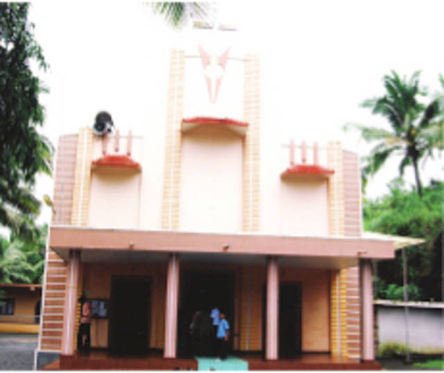 St. Thomas Knanaya Catholic Church, Kallar,   Kasargod