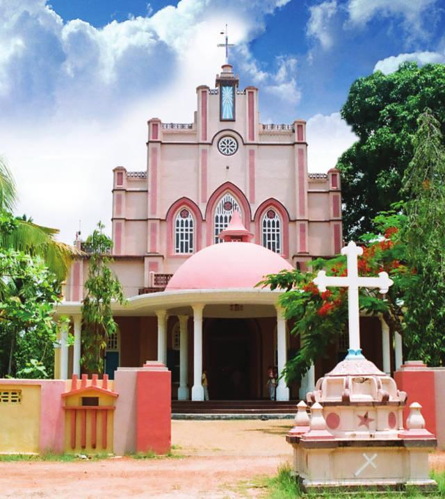 St Francis Xavier's Knanaya Catholic Church Kannamkara