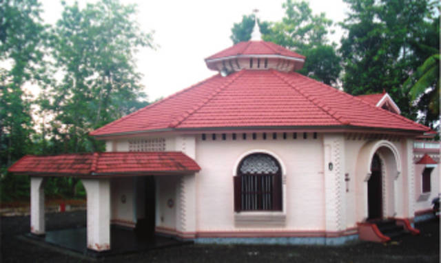 St. Joseph's Knanaya Catholic Church, Eraviperoor, Pathanamthitta