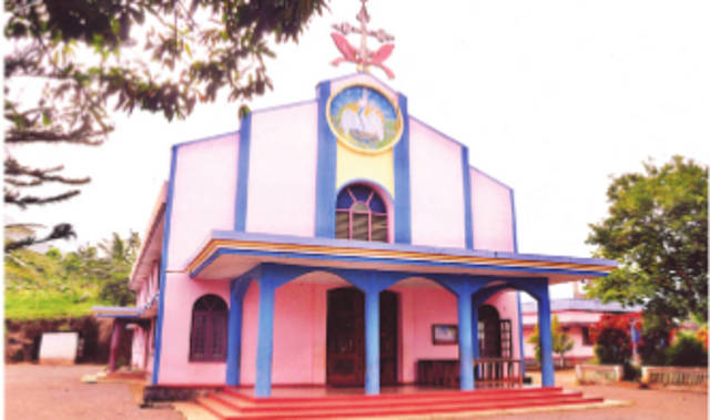 Christ the King Knanaya Catholic Church, Pulinkal, Wayanad