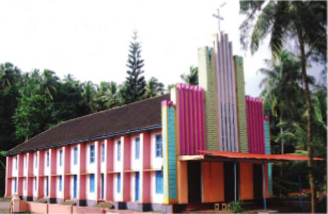 Our Lady or Lourde's Knanaya Catholic Church, Malakkallu, Kasargod