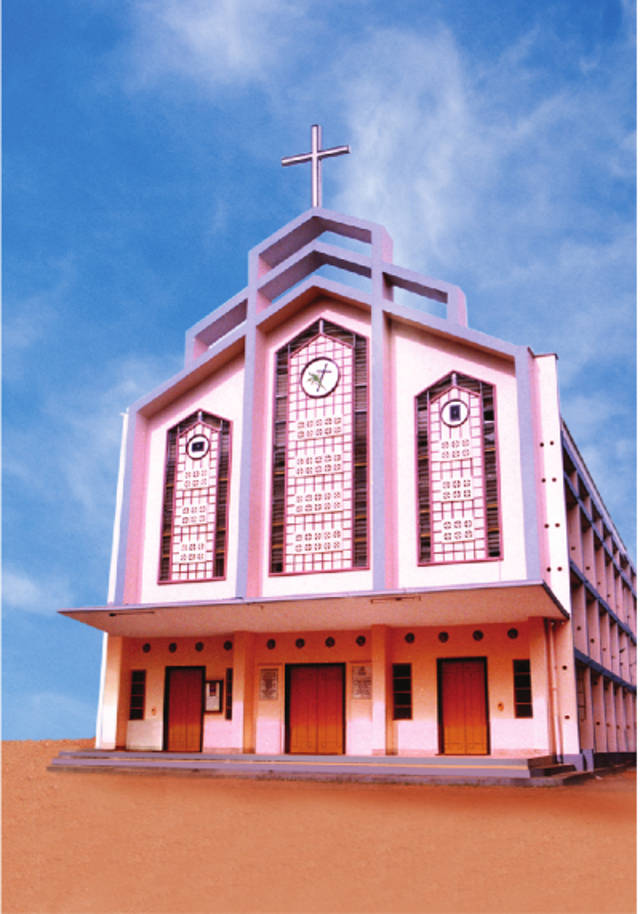 St. John Nepumcen Knanaya Catholic Church Kumarakom