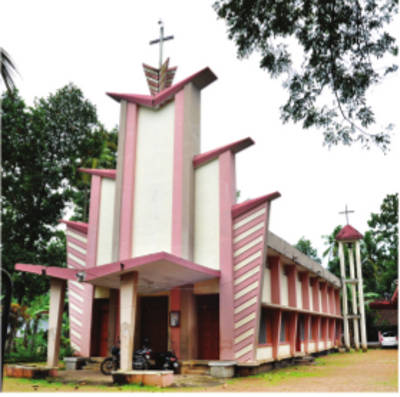 St. Mary's Knanaya Catholic Church, Kuttoor, Thiruvalla