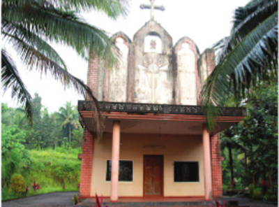 St. Stephen's Knanaya Catholic Church, Malom, Kasargod