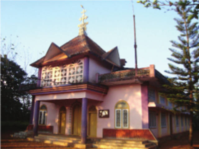 St. Thomas Knanaya Catholic Church, Puthussery, Wayanad