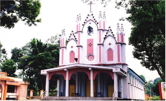 Lourde Matha of Lourdes Knanaya Catholic Church Neericad