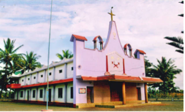 St. Stephen's Knanaya Catholic Church, Thettamala, Wayanad