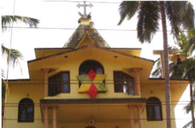St. George's Knanaya Catholic Church, Odayanchal,   Kasargod