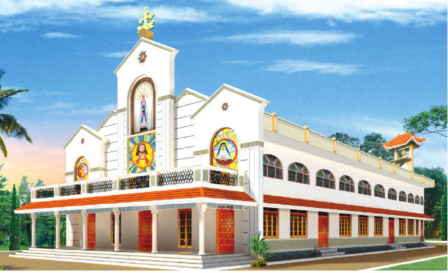 St. Mary's Knanaya Catholic Church Pachira