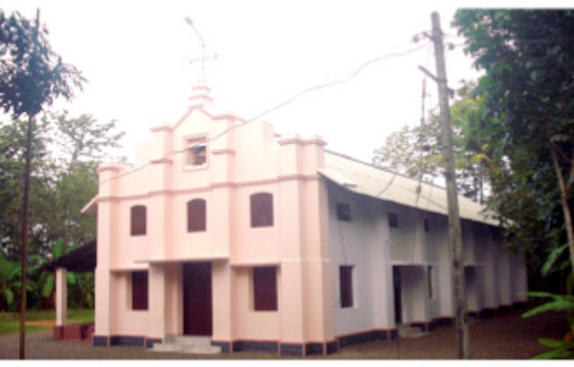 Sacred Heart Knanaya Catholic Church, Thuruthikad, Pathanamthitta
