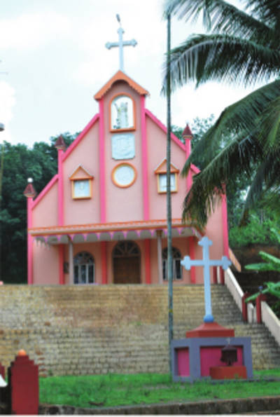 St. Francis Assisi Knanaya Catholic Church, Thiroor, Kannur